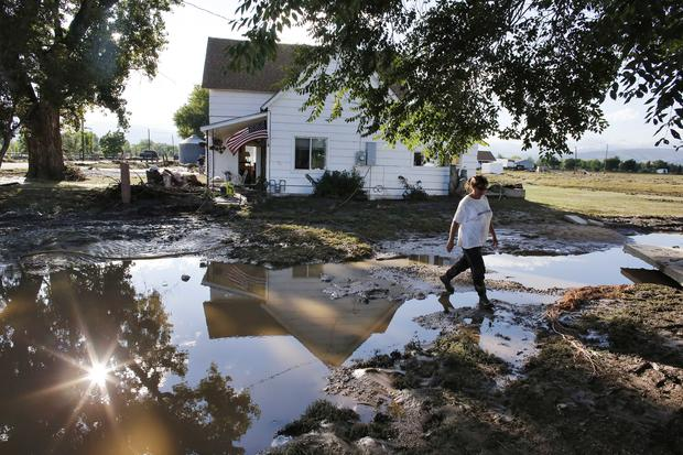 Flash flooding swamps Colorado