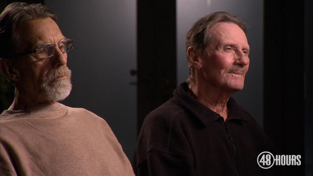 Facing the death penalty if they went to trial, David Hunt, left, and Doug Lainer, were saved at the last minute, not by new evidence, but by old evidence re-examined in the light of new science.