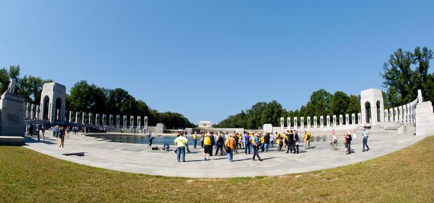 WWII vets defy shutdown
