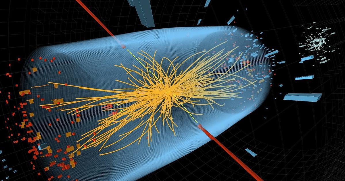 Partikel Tuhan (Credit: CERN/AP)