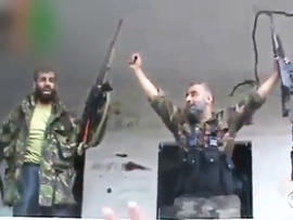 Independent group says rebels attacked civilians in province of Latakia in August, killing at least 190.