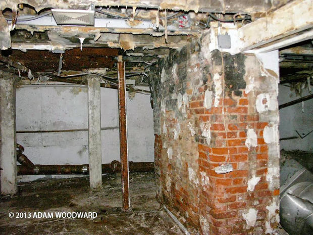 Preservationist Adam Woodward discovered a cellar in New York City that he believes could be the foundation of the Revolutionary War-era Bull's Head Tavern, which George Washington is believed to have once patronized.