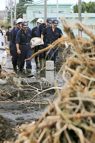 Deadly typhoon strikes Japan