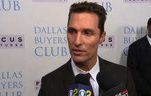 """Stars step out for """"Dallas Buyers Club"""""""