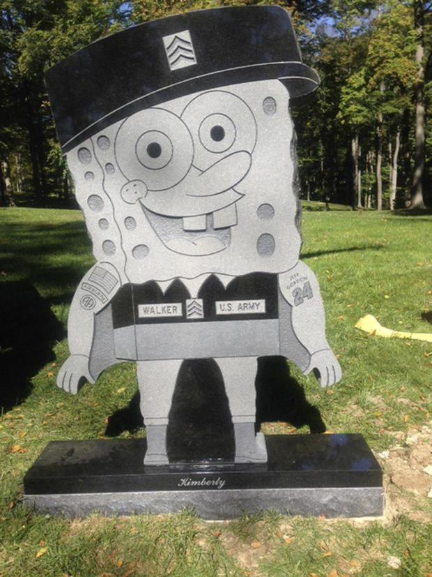 Kimberly Walker, SpongeBob SquarePants, headstone