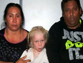 DNA tests proved Maria is not related to the couple who claimed to be her parents.
