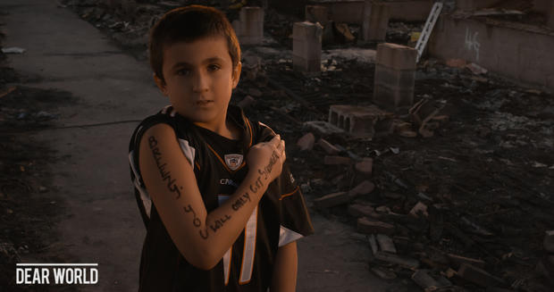 Portraits of strength after Superstorm Sandy