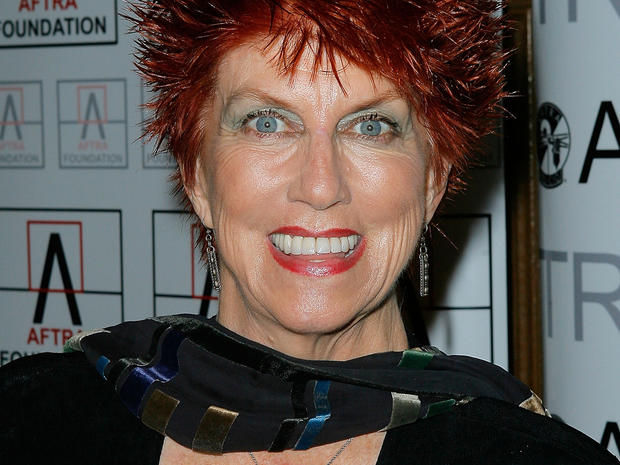 Actress Marcia Wallace attends the 2009 American Federation of Television and Radio Artists Media and Entertainment Excellence Awards March 9, 2009, in Los Angeles.