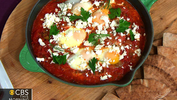 Gail Simmons' Shakshuka with fennel and feta