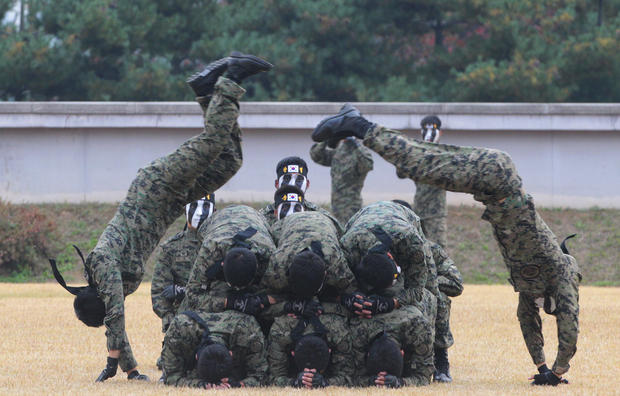 Display of force in South Korea