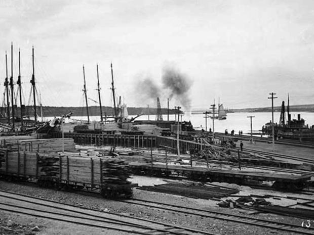 In the 1800s and 1900s, the area along the river was a thriving hub for industry.