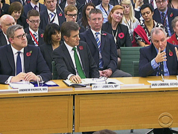 In an unprecedented hearing before British Parliament, intelligence chiefs said terror groups changed communications tactics after NSA leaks.