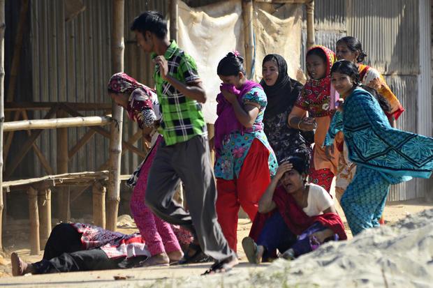 Bangladesh garment worker protest turns violent