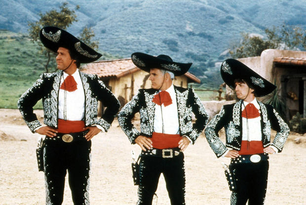 """Three Amigos"" - Oscar honors Steve Martin - Pictures ..."
