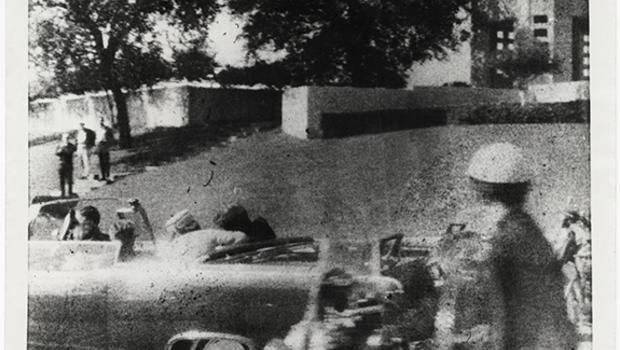 "Exhibit shows ""Bystander's View"" of JFK death"