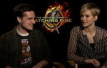 """Hunger Games"" stars talk ""Catching Fire"""