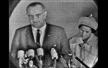 Johnson reassures nation after assassination