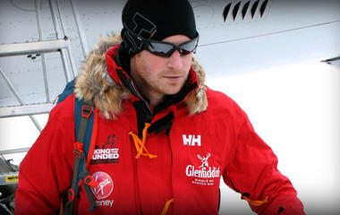 """Prince Harry on South Pole trek: """"So what if it's minus 50"""""""
