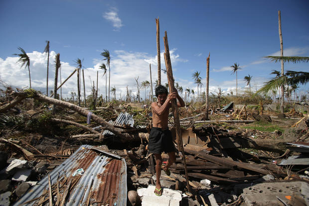 Livelihoods at risk in Philippines