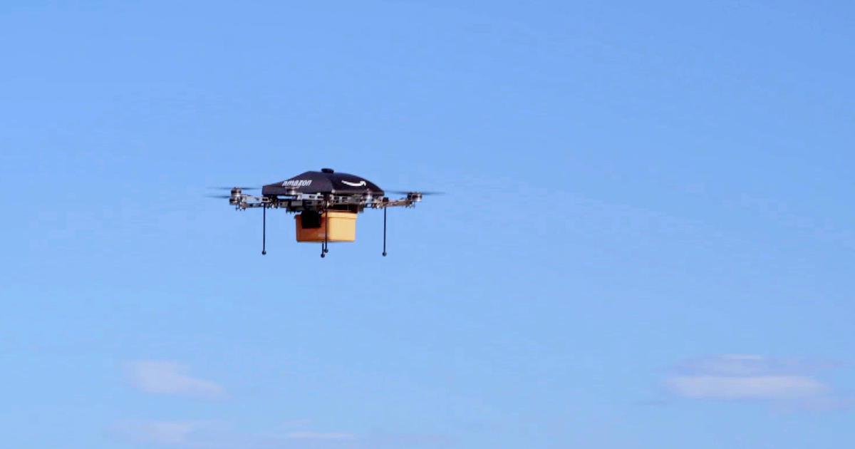 Amazon unveils futuristic plan: Delivery by drone