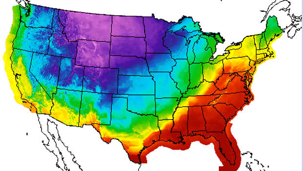Cold Temps Set Stage For Ice Storm Severe Chill Across US CBS - Us Storm Map