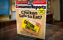 Consumer Reports finds contamination in 97 percent of chicken