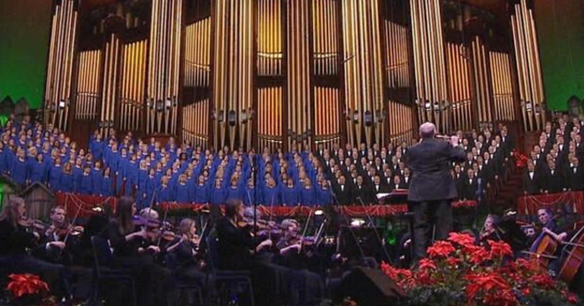 A joyful noise: The Mormon Tabernacle Choir - CBS News