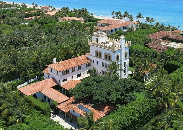 Palm Beach, Fla. - 10 castle homes fit for royalty - CBS News