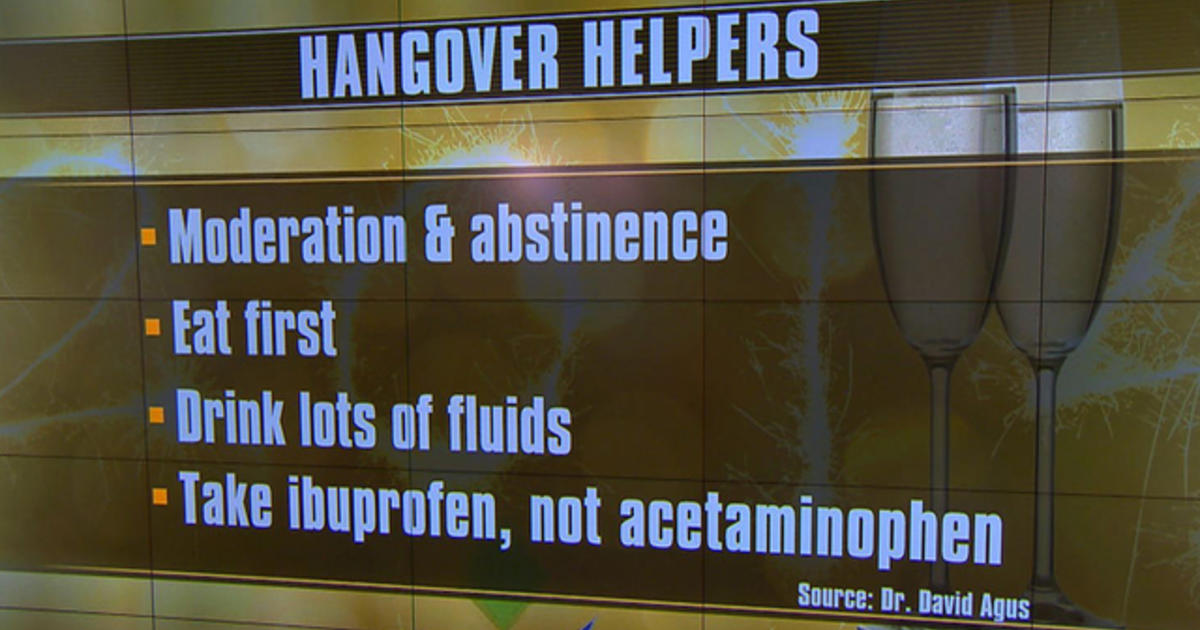 Hangovers: How to prevent and cure them