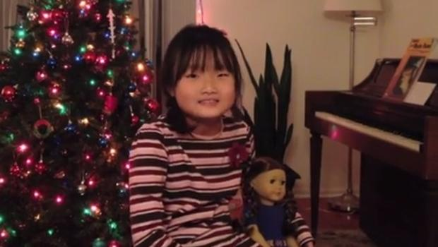 girl with muscular dystrophy petitions mattel to release disabled american girl doll cbs news - Christmas Decorations For American Girl Dolls