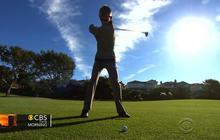 Blind teen golfer follows his PGA dream