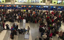 Thousands stuck after fifth day of air travel disruptions