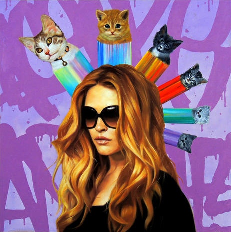 Art scene gets catty in L.A.