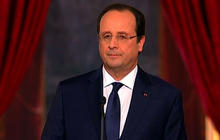 """France's Hollande: A """"difficult"""" moment"""