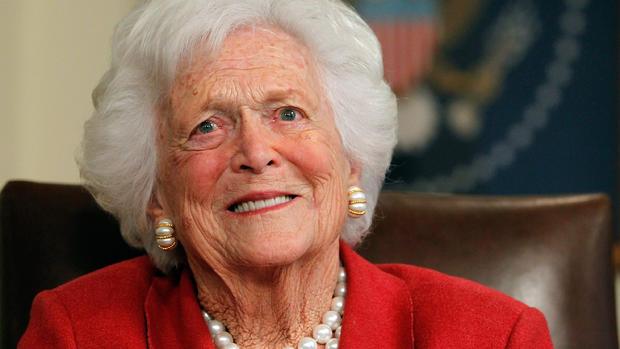 Barbara Bush 1925-2018