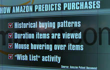 Amazon seeks to predict your shopping habits