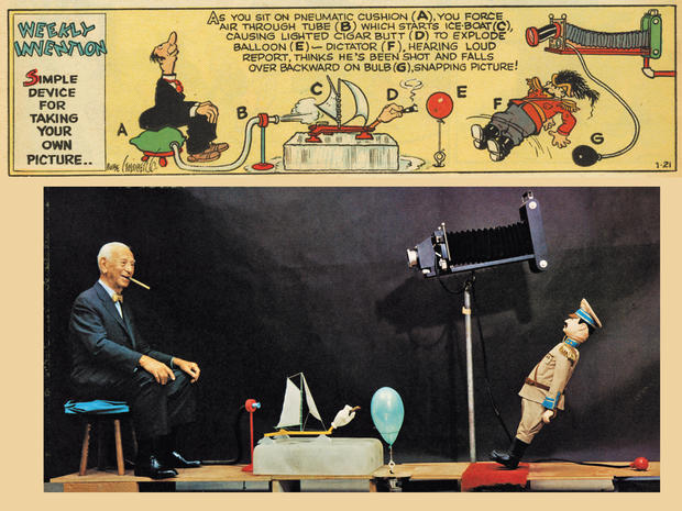 Art of Rube Goldberg_taking your own picture_192a.jpg