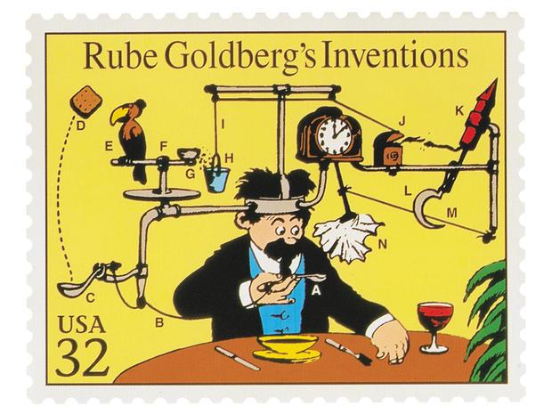 Art of Rube Goldberg_postage stamp_190b.jpg