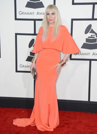 Grammy Awards 2014 red carpet