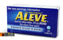 Aleve may have less heart risk than other pills