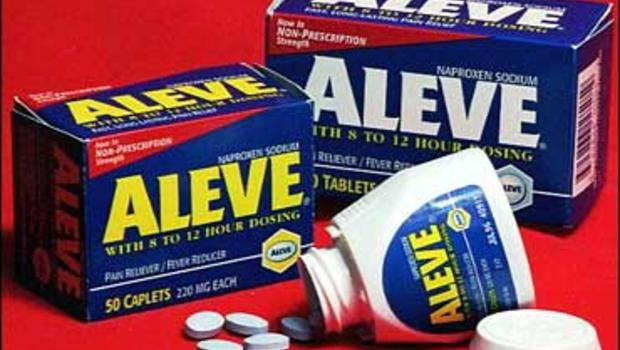aleve may be safer on heart than other antiinflammatory