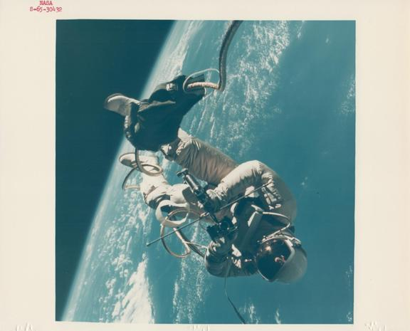 Vintage photos from space