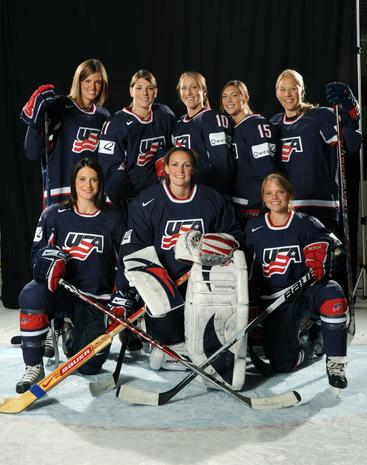 U.S. Women's Olympic hockey team