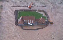 Historic flooding leaves Britain under water