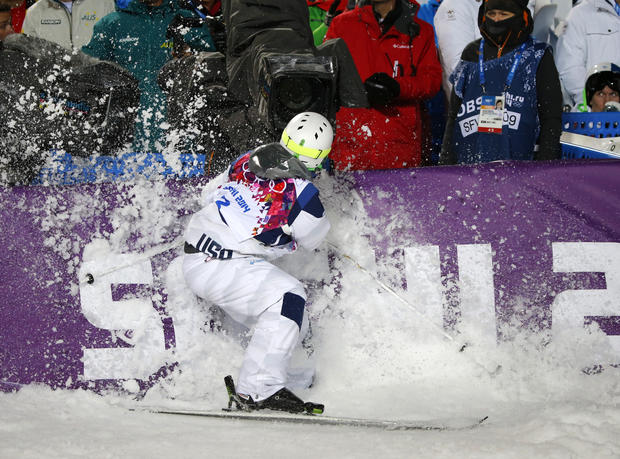 Wipeouts at Sochi