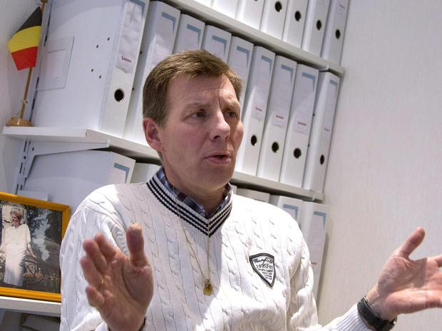 Belgian doctor Marc Van Hoey