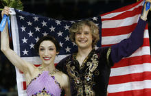 Americans win first gold in Olympic ice dancing