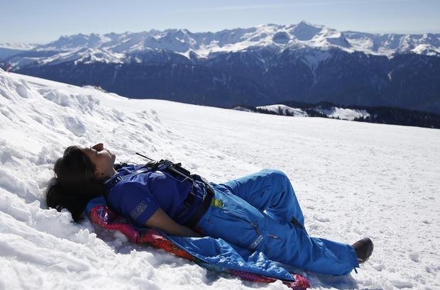 Sochi warm weather