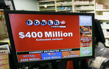 Powerball jackpot now up to $400M