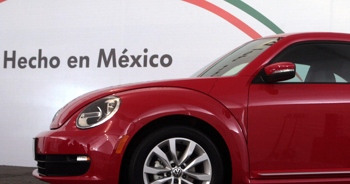 Why your next car could be made in Mexico - CBS News